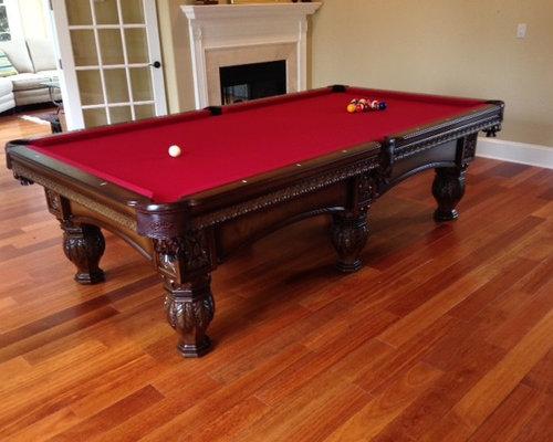Olhausen Billiards Pool Table Installs - Olhausen hampton pool table