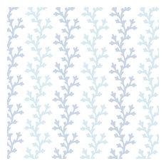 Georgina Ocean Ombre Coral Wallpaper Swatch
