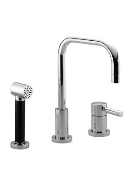 Meta.02 | Two Hole Mixer With Handspray Set | Collection By Dornbracht