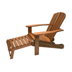 Johanna Adirondack Chair With Ottoman