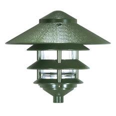 "4 Louver Large 10"" Top Pagoda"
