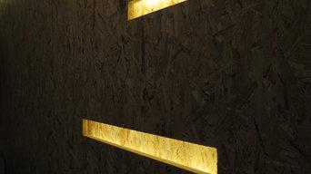 casa privata illuminazione a led
