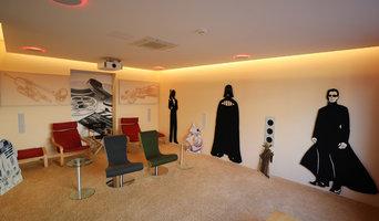 Showroom Heimkino im Wohnzimmer