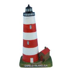 Sapelo Island Lighthouse Decoration 7''