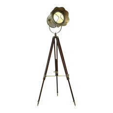 Contemporary and Modern Tripod Spot Light With Adjustable Stand Home Decor