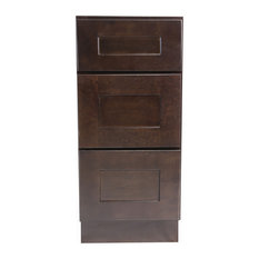 "Design House 562033 Brookings 12""W x 34-1/2""H Base Cabinet - Espresso"