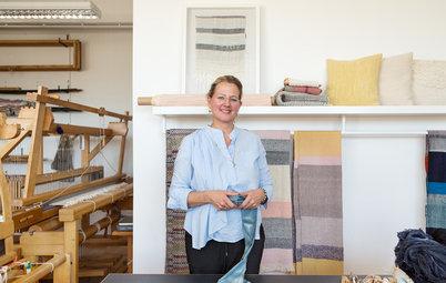Manufakturbesuch: Im Atelier einer Berliner Handweberin
