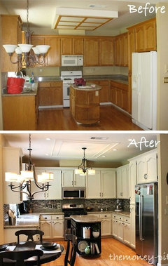 Small Outdated Kitchen