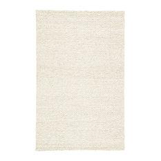 Jaipur Living Karlstadt Handmade Solid Taupe/White Area Rug, 8'x10'