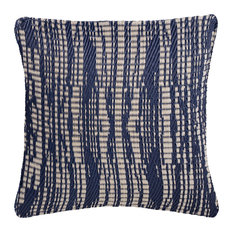 "Outdoor Accent Pillow Brooklyn Dark Blue, 20""x20"""