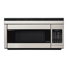 SHARP - Over the Range Convection Microwave, Stainless Steel - Microwave Ovens