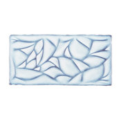"SomerTile 3"" x 6"" Antic Sensations Ceramic Wall Tile, Via Lactea, Case of 32"