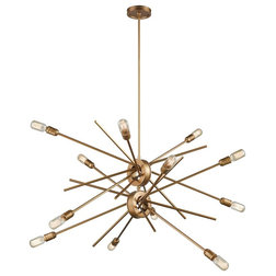 Midcentury Chandeliers by House Lighting Design