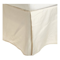 RE Series 300-Thread-Count Long-Staple Cotton Bed Skirt, Ivory, King