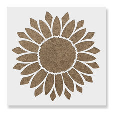 """Sunflower Stencil for DIY Projects, 15""""x15"""""""