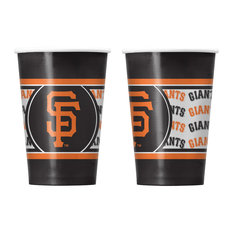 San Francisco Giants Disposable Paper Cups, Pack of 20