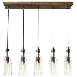 Industrial Kitchen Island Lighting by LNC Lighting