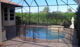 Brown Pool Fences