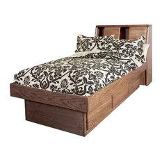 Bullnose Twin Platform Bed