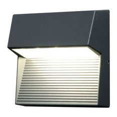 Contemporary Outdoor LED Wall Light