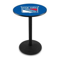New York Rangers Pub Table 28-inchx42-inch
