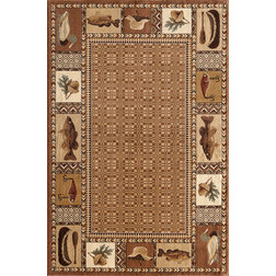 Rustic Area Rugs by CENTRAL ORIENTAL FLOOR COVERING