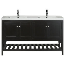 Transitional Bathroom Vanities And Sink Consoles by Aquamoon