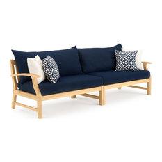 Kooper 96in Sofa - Navy Blue