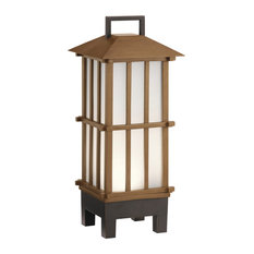 Portable Bluetooth LED Lantern by Kichler 49247BWFLED in Wood Finish