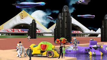 Futurism Digital Art
