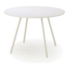 Cane-Line Area Table, White