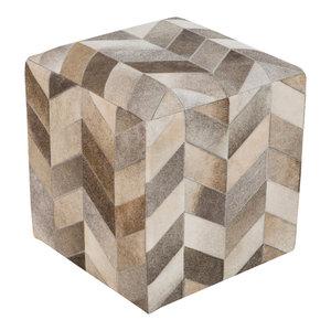 Surya Poufs Cube Pouf