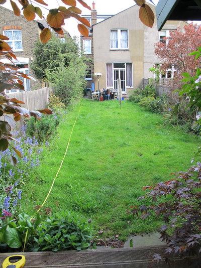 Garden Design Rectangular Plot garden tour: a curvy lawn and all-season plants soften a city plot