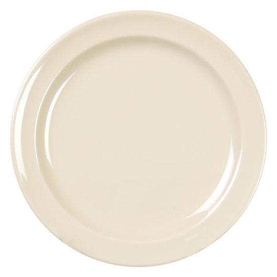 Milan Melamine Dinner Plate Set of 12 Tan 9\   sc 1 st  Houzz & Milan Melamine Dinner Plate Set of 12 - Modern - Dinner Plates - by ...