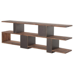 Industrial Entertainment Centers And Tv Stands by Jovial Elephant