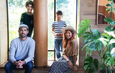 Visita privada: La exuberante casa de una familia bohemia
