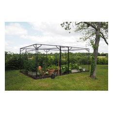 Steel Fruit Cage Matt Black GDN-100