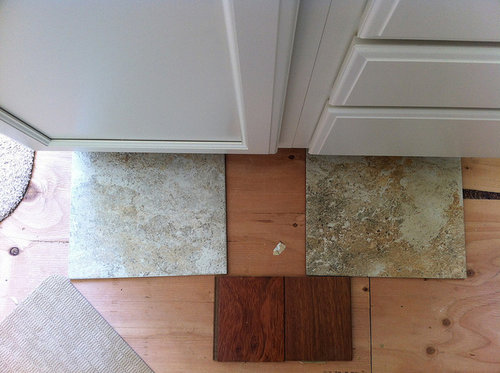 Wood or Tile in Kitchen (Wood scares me--won\'t it scratch ...