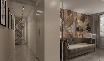 Квартира в современном стиле в Красногвардейском районе, 70 кв.м