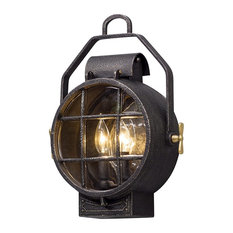 Troy Lighting Point Lookout 2-Light Outdoor Wall Lantern, Small