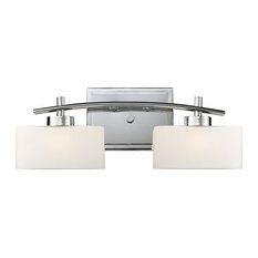Eastbrook 2-Light Vanity, Polished Chrome