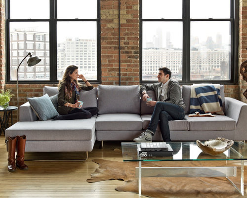 Asher Fabric Sectional By Interior Define