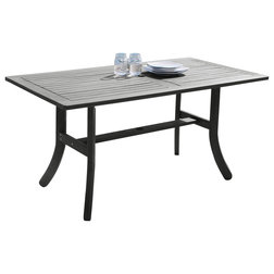 Transitional Outdoor Dining Tables by clickhere2shop
