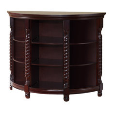 Famke Wood Console Table Cherry