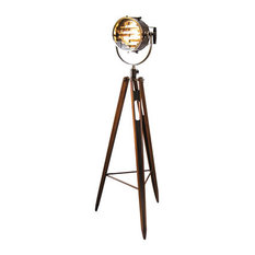 Tripod spotlight floor lamps houzz authentic models admiralty spotlight floor lamps aloadofball Choice Image
