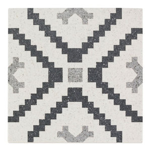 "Branwell 9""x9"" Porcelain Field Tile, Lempicka"