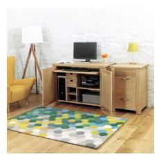 Bonsoni Aston Oak Hidden Home Office