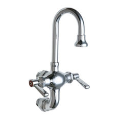 Chicago Faucets 225-AB Wall Mounted 1.5 GPM Utility / Service - Chrome