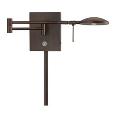 George Kovacs P4338-647 Copper Bronze Jelly Bean LED Swing Arm Wall Sconce