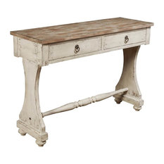 R2H   Console Table, White Finish   Console Tables